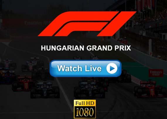 Hungarian Grand Prix live streaming reddit