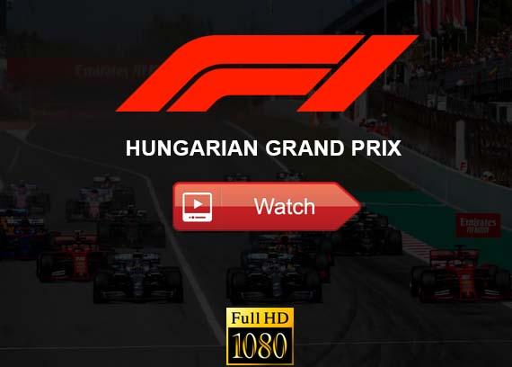 Hungarian Grand Prix live stream reddit