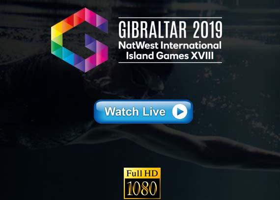 Island Games 2019 live stream