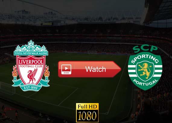 Liverpool vs Sporting live stream reddit