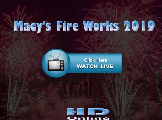 How may I watch Macy's 4th of July Fireworks live stream 2019 at NY