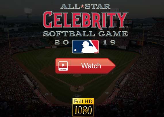 MLB All Star Celebrity Softball Game 2019 live stream reddit