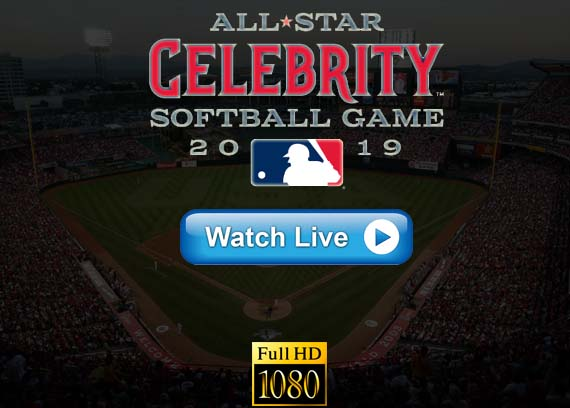 MLB All Star Celebrity Softball Game 2019 live online Reddit streams