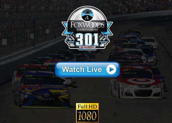 Foxwoods Resort Casino 301 live streaming reddit