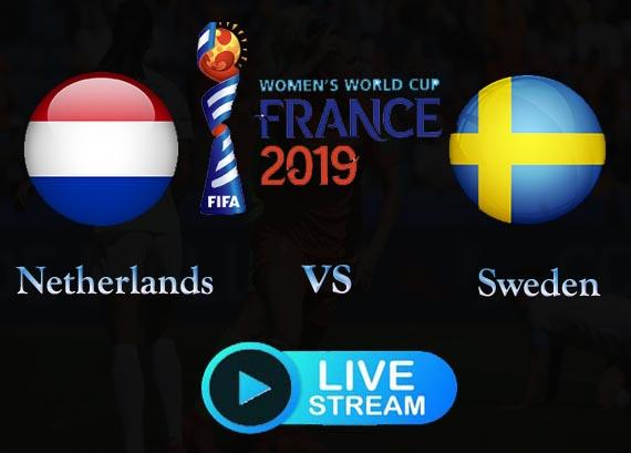 WWC Free Holland vs Sweden Live Stream Reddit online now