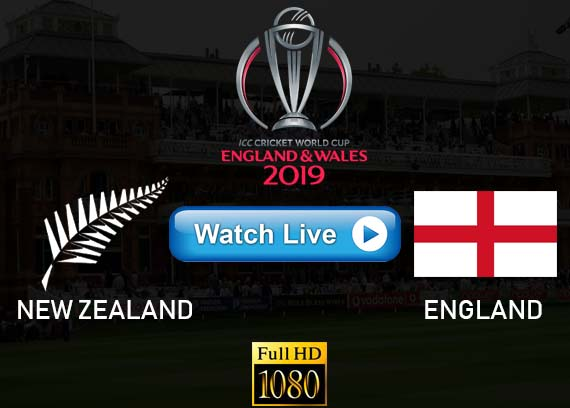 New Zealand vs England Cricket World Cup Final live streaming Reddit