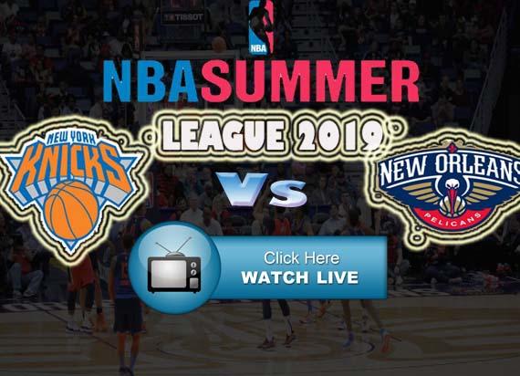 Knicks vs Pelicans Live