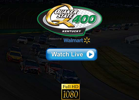 Quaker State 400 2019 live streaming