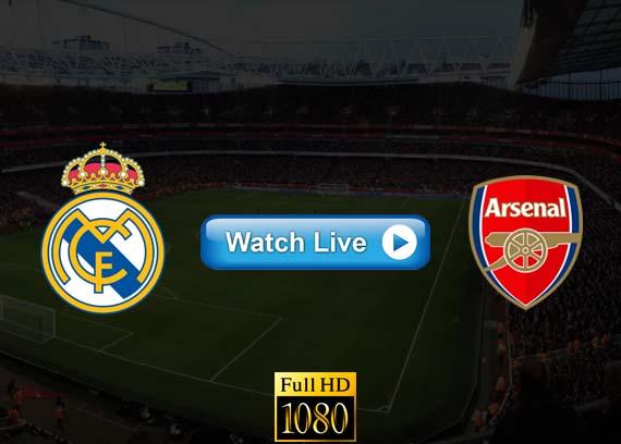 Real Madrid vs Arsenal live streaming Reddit