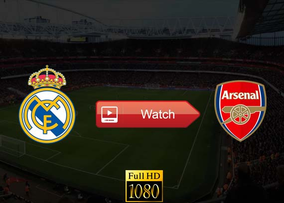 Real Madrid vs Arsenal live stream reddit