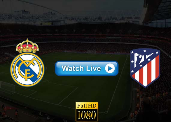 Real Madrid vs Atletico Madrid live streaming reddit