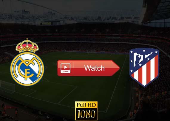 Real Madrid vs Atletico Madrid live stream reddit