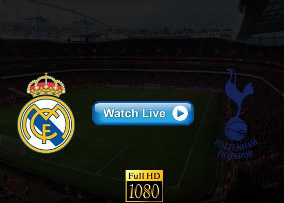 Real Madrid vs Tottenham live streaming reddit