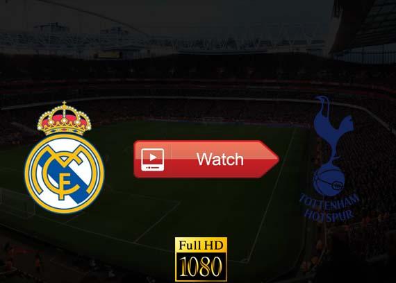 Real Madrid vs Tottenham live stream reddit