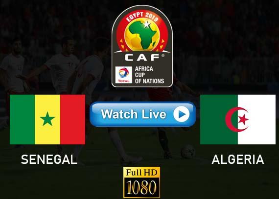 Senegal vs Algeria live streaming Reddit