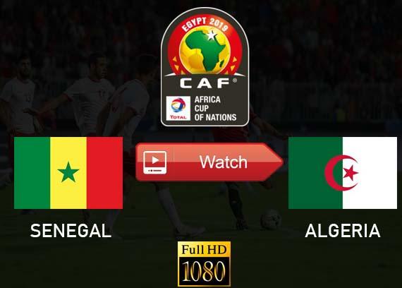 Senegal vs Algeria live stream Reddit