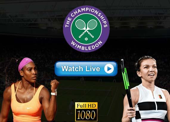 Serena Williams vs Simona Halep Reddit streams