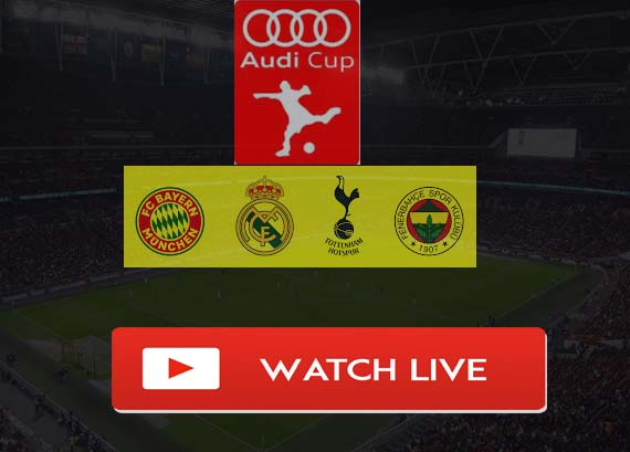 Real Madrid vs Tottenham Live Stream