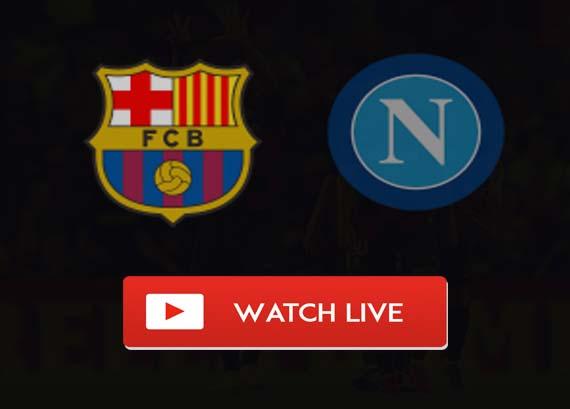 Barcelona vs Napoli Reddit Live Stream