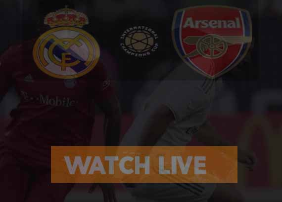 Arsenal vs Real Madrid Live Stream