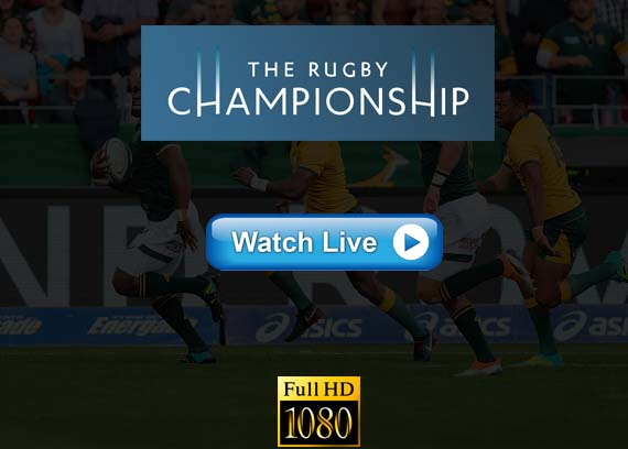 The Rugby Championship live streaming