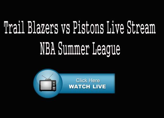 Trail Blazers vs Pistons Live NBA