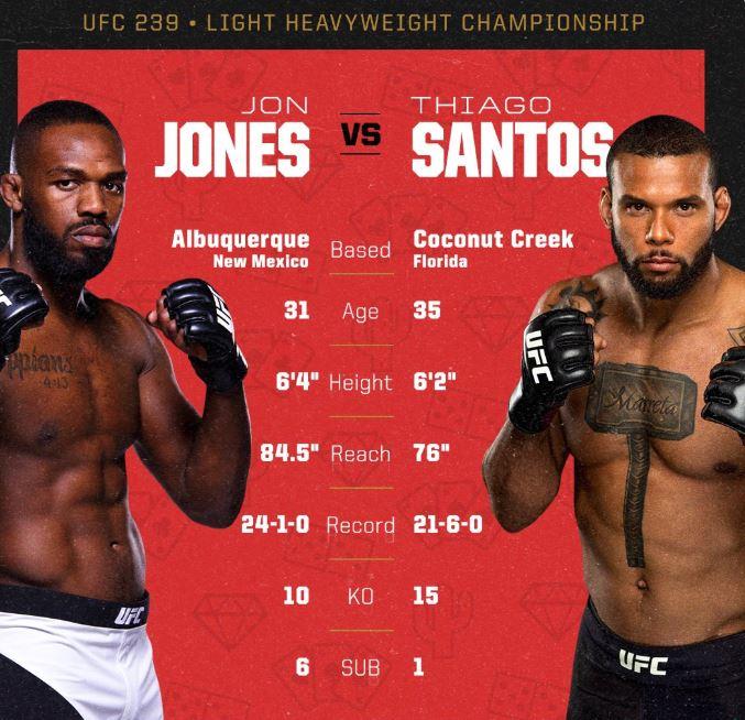UFC 239 live stream free
