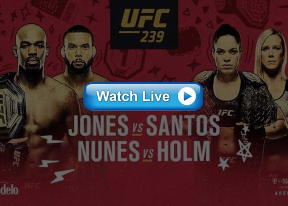 UFC 239 live stream Reddit