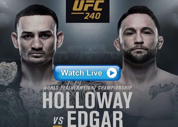 UFC 240 live streaming reddit
