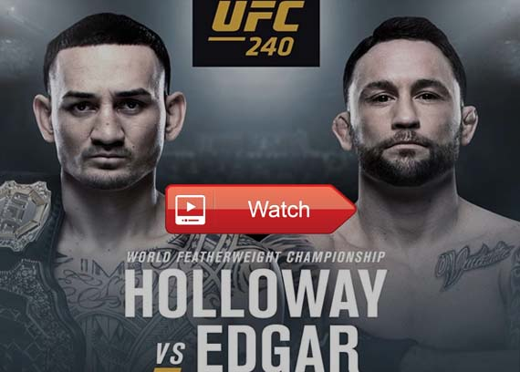UFC 240 live stream Reddit