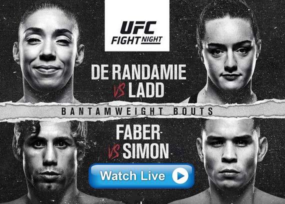 UFC Fight Night 155 live streaming