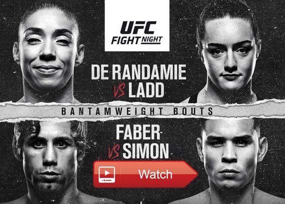 UFC Fight Night live streaming