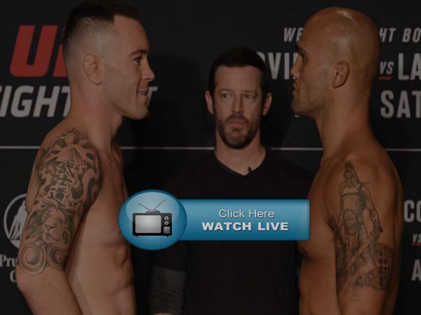 Covington vs Lawler Live Stream