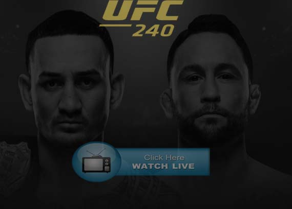 UFC 240 Reddit Live Stream