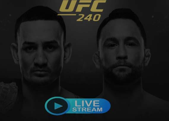 subscription to UFC 240 Live Stream