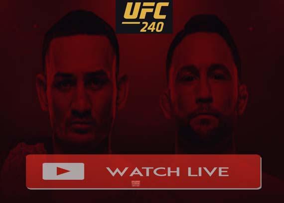 UFC 240 Live Stream Reddit Online