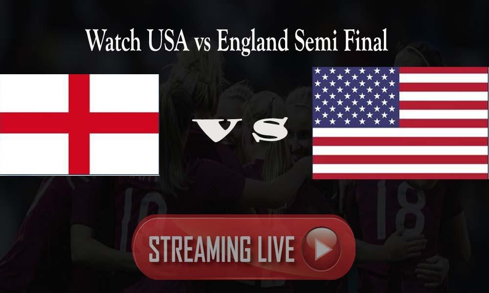 USA vs England Live Streaming