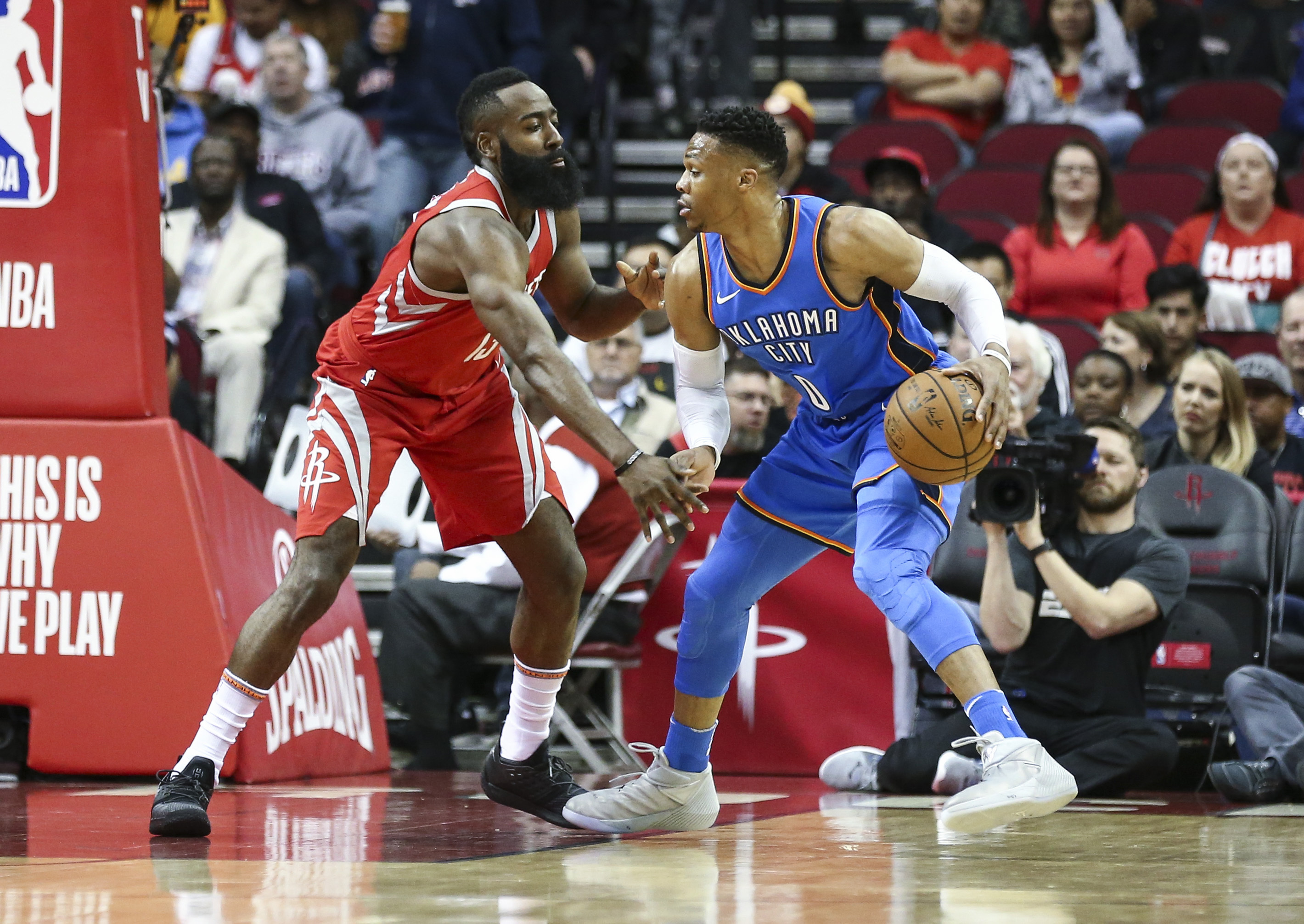 Let's Make A Deal! Rockets Acquire Russell Westbrook from the Thunder for Chris Paul