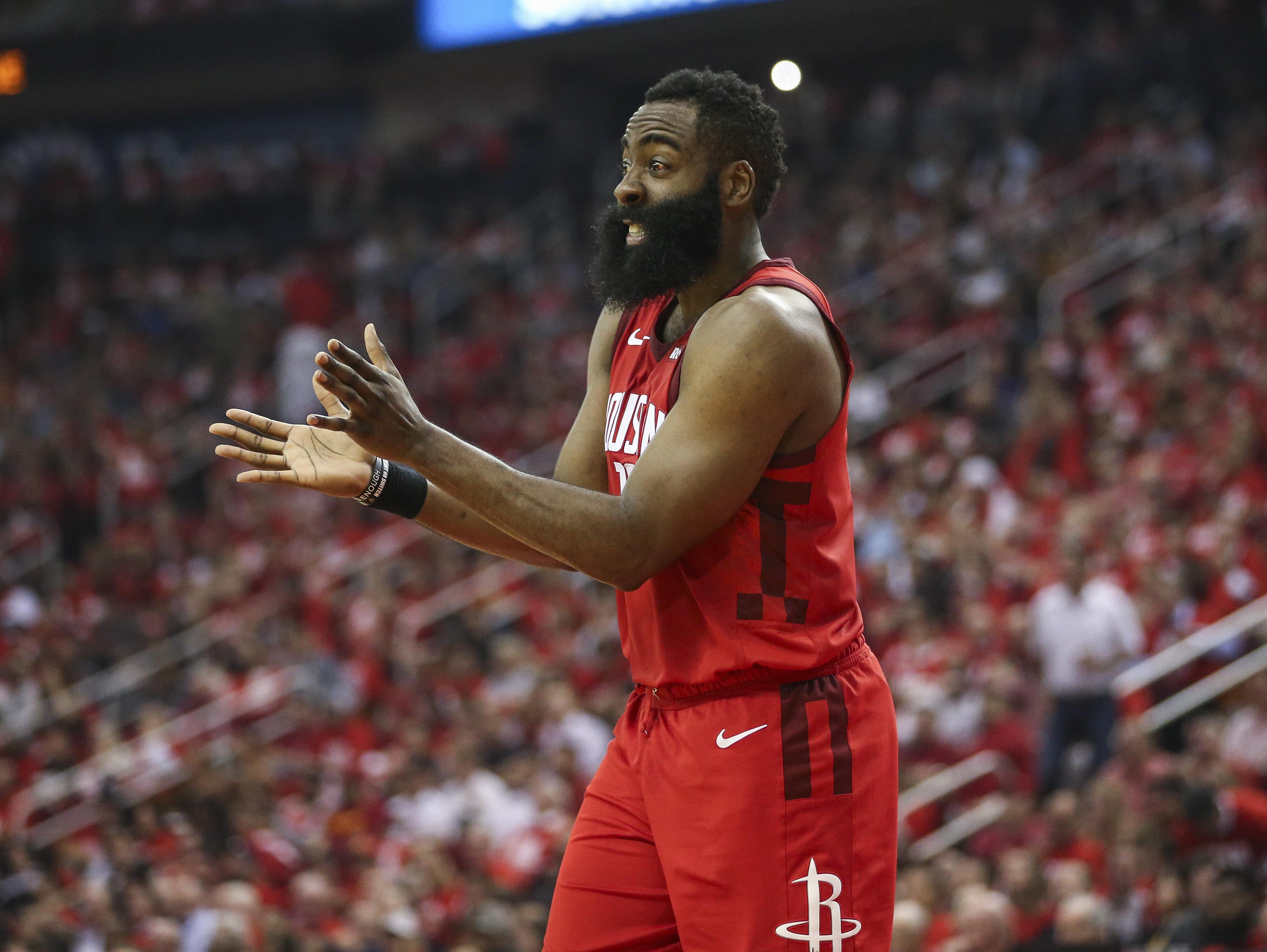 Rockets' James Harden remains unhappy after preseason