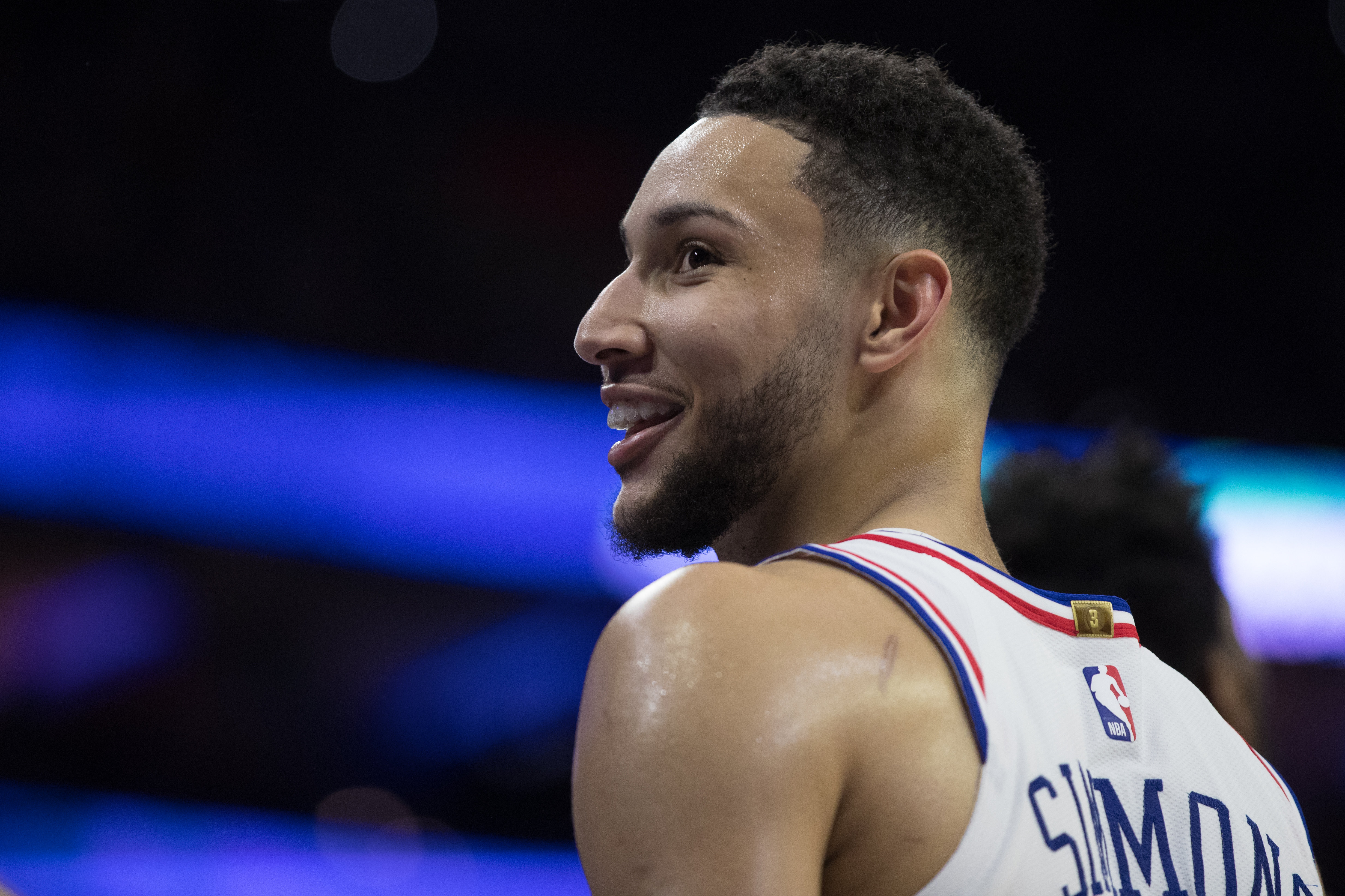 Tobias Harris indicates Ben Simmons is finally improving three-point shooting