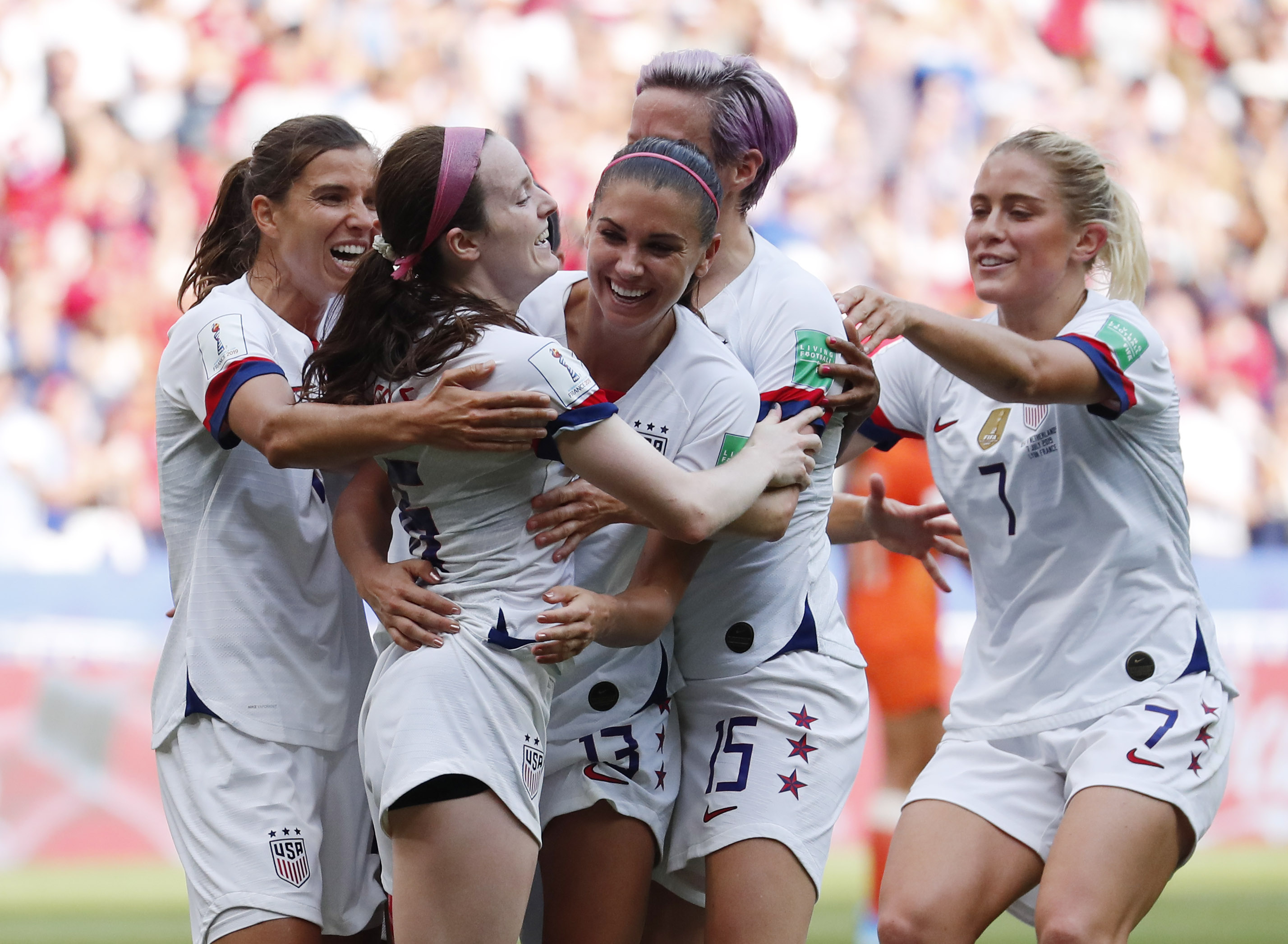 Rose Lavelle's beautiful juke, goal lift USWNT to World Cup final victory over Netherlands (Video)