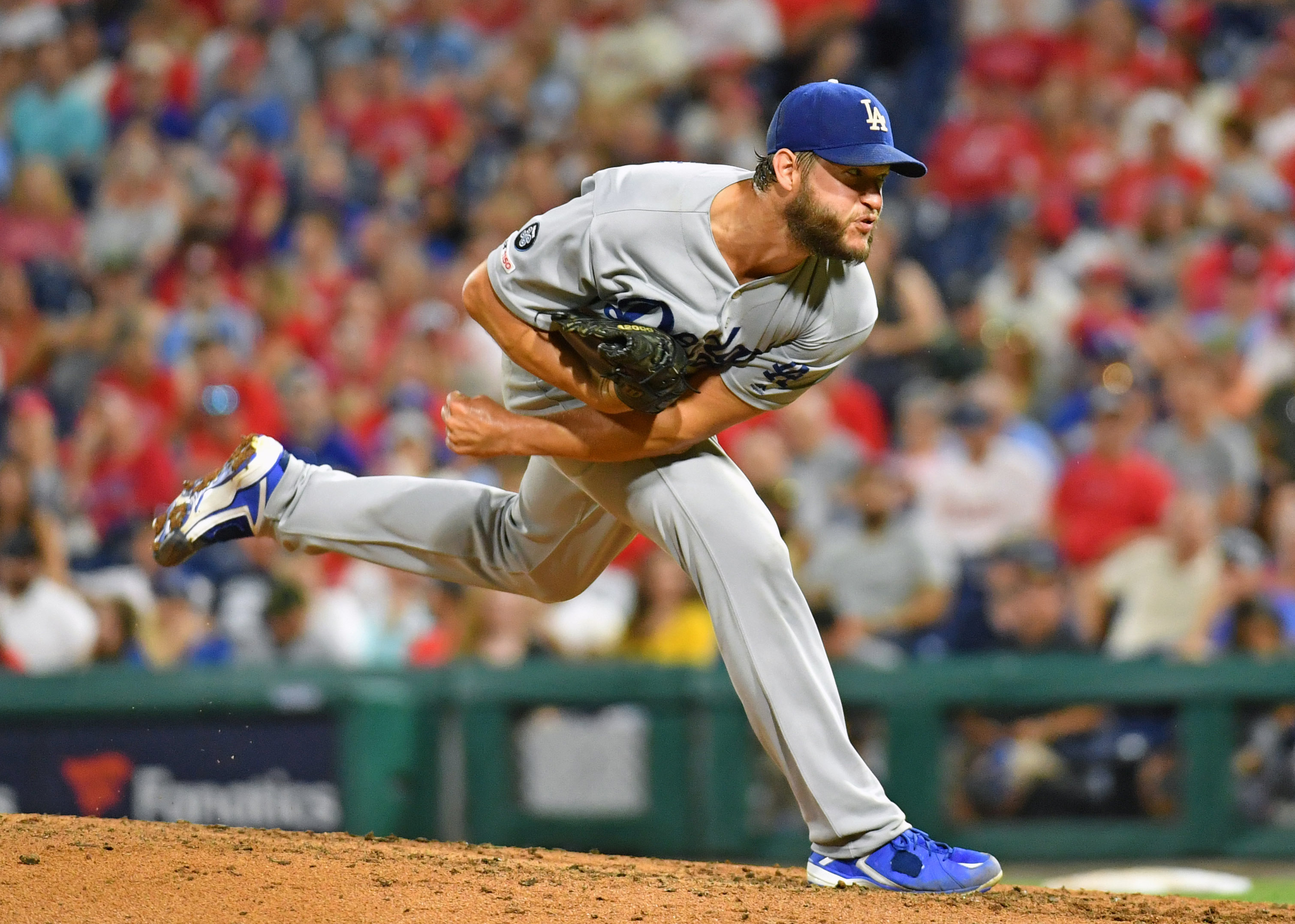 Clayton Kershaw has reached back for something familiar