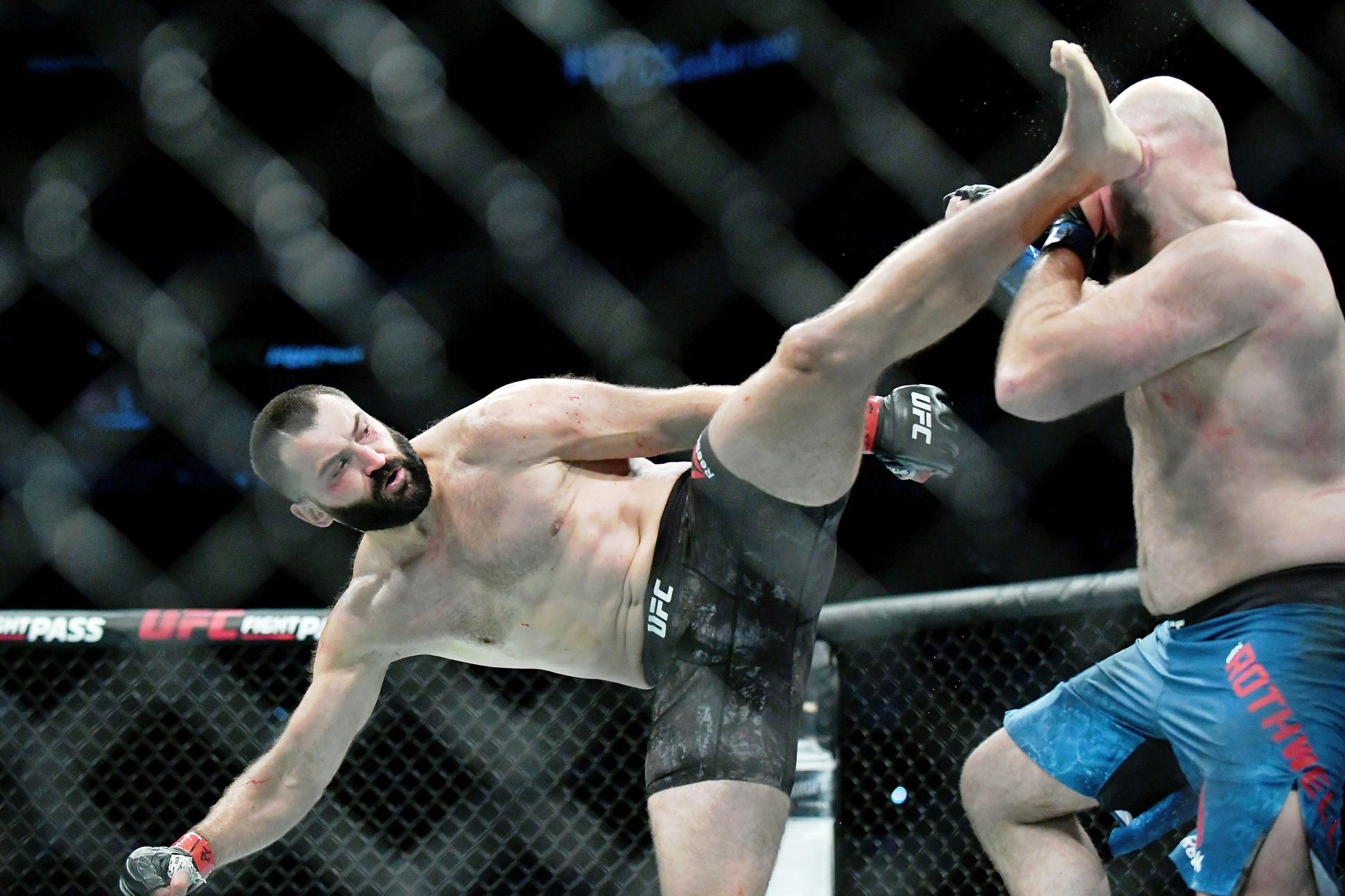 The Livest Dog at UFC Blaydes vs Lewis: Andrei Arlovski
