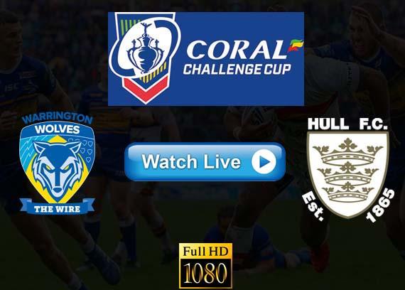 Warrington Wolves vs Hull FC live streaming reddit