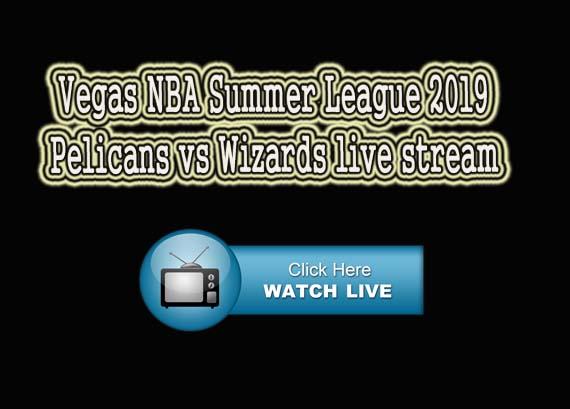 Pelicans vs Wizards live stream