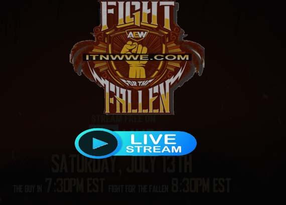 Fight for the Fallen Live stream