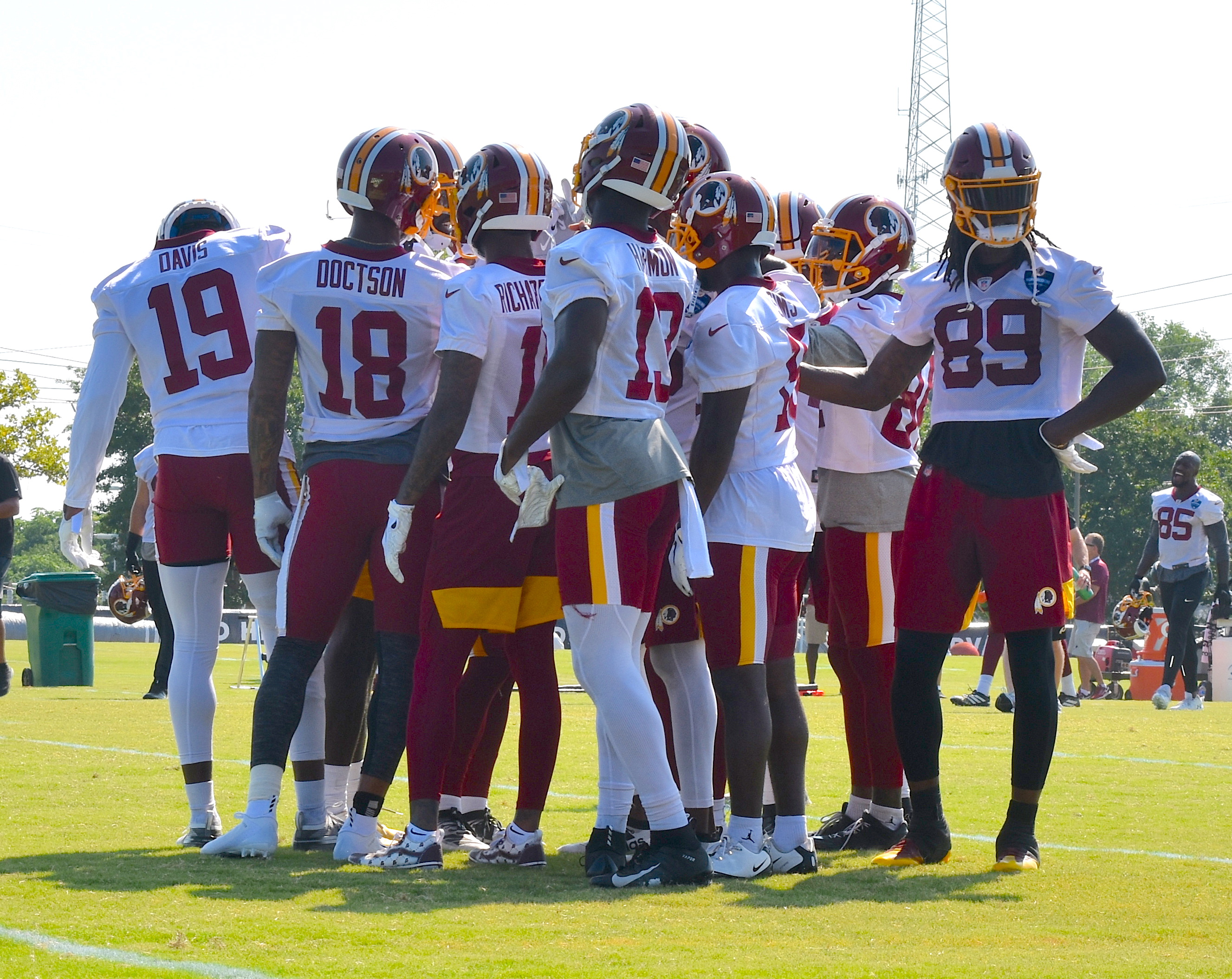 Day 9: Redskins 2019 Training Camp 📸