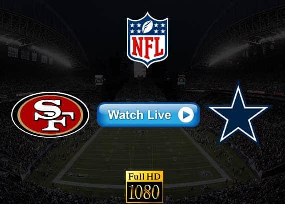 49ers vs Cowboys live streaming reddit