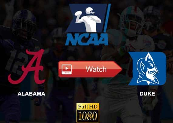 Alabama vs Duke live stream reddit