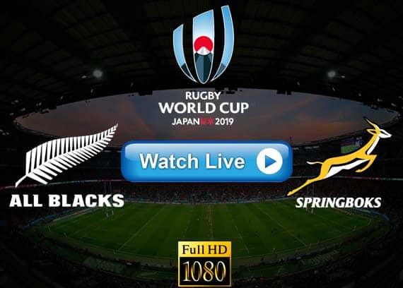 All Blacks vs Springboks live streaming reddit